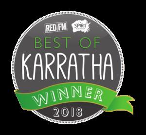 J009783 - Best of Karratha 2018_Sticker